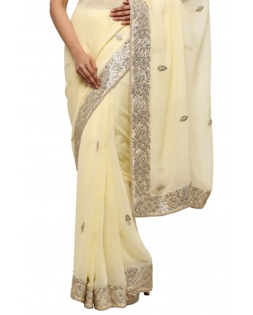 Ranas Gotta Patti Georgette Saree