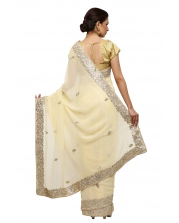 Ranas Gota Patti Georgette Saree
