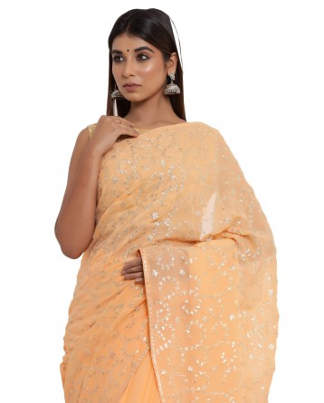 Ranas Pitta Work Saree