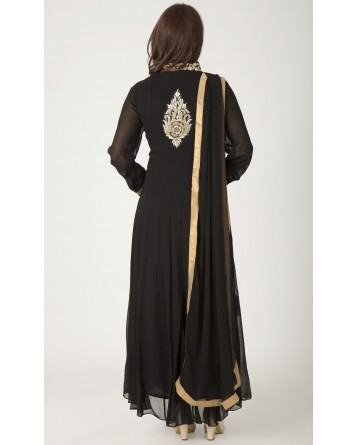 Ranas Black Designer Suit