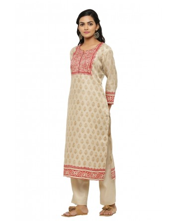 Ranas Beige Color Suit