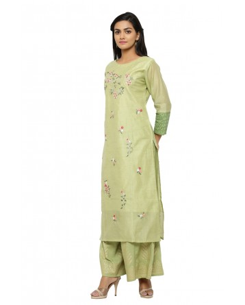 Ranas Chanderi Kurta & Plazo Set