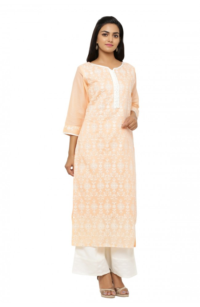 Ranas Cotton Kurta with Plazo