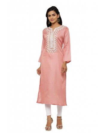 Ranas Peach Color Kurta