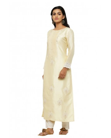 Ranas Cream Color Suit