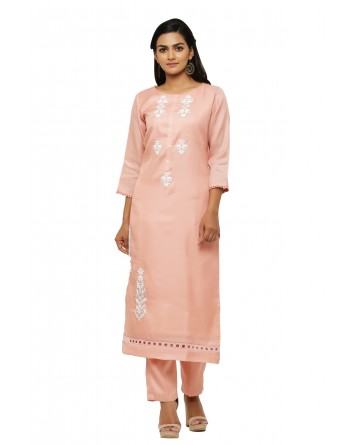 Ranas Peach Color Suit