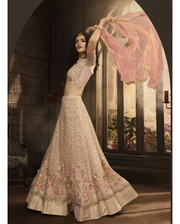Designer Semi Stitched Party/Festival/Wedding wear Lehenga