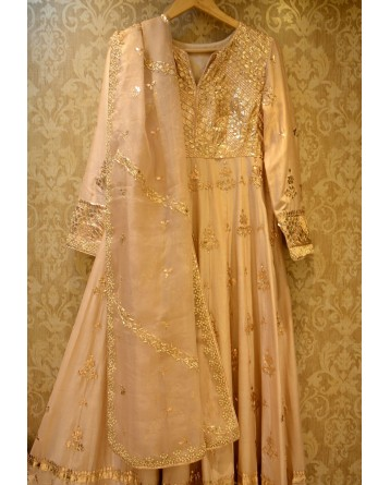 Ranas Anarkali Gota Patti Suit