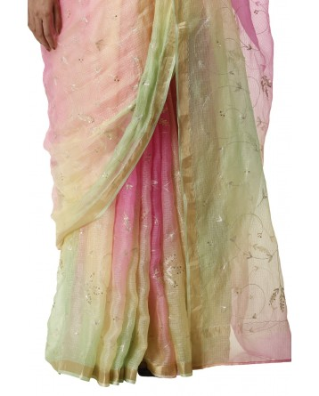 Ranas Multi Color Kota Silk Saree