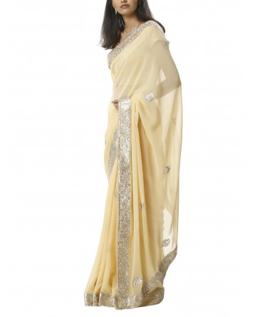 Ranas Gota Patti Faux Georgette Saree