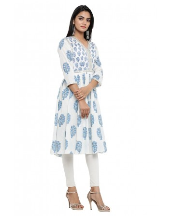 Ranas Block Print Cotton Kurti