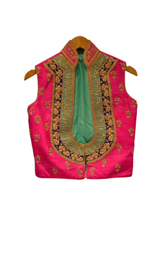 Ranas Raw Silk Jacket