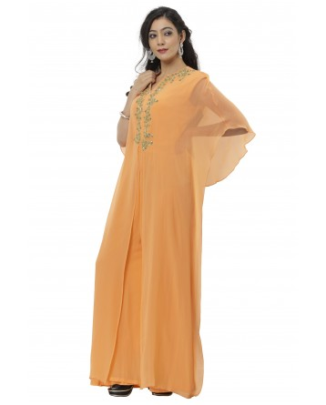 Ranas Orange Color Jump Suit