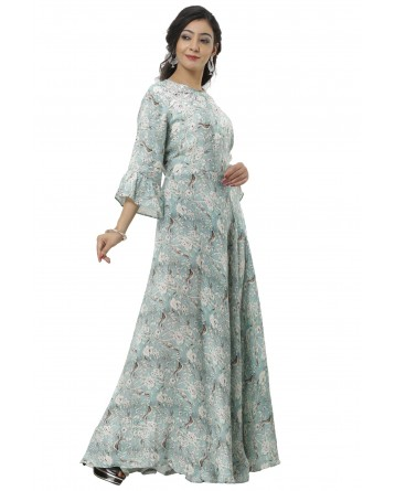 Ranas Printed Gown