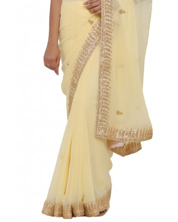 Ranas Faux Georgette Saree
