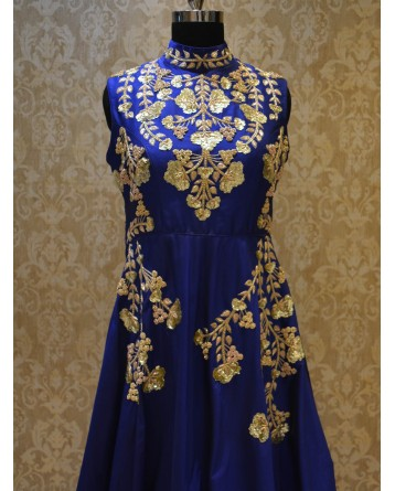 Ranas Blue Color Gown