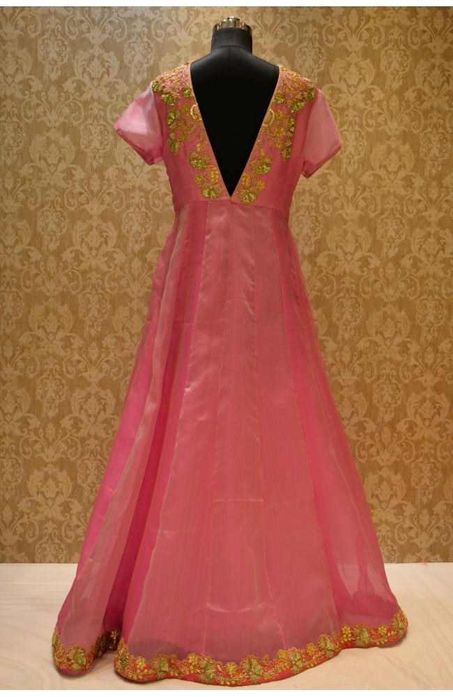 Ranas Pink Color Gown