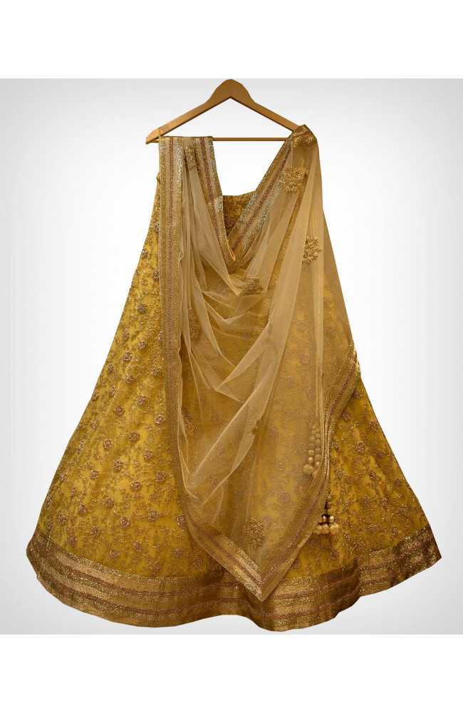 Ranas Yellow Bridal Lehenga