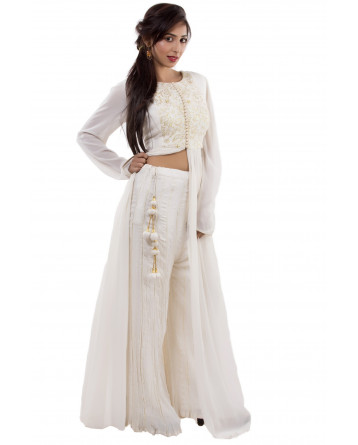 Ranas White kurta with Plazo