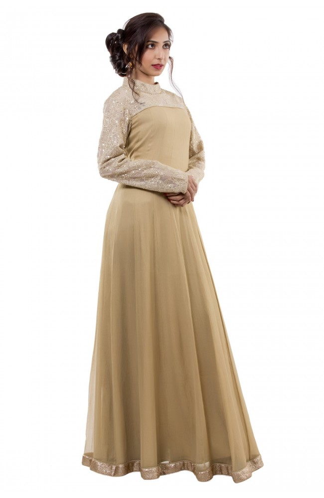 Ranas Golden Gown
