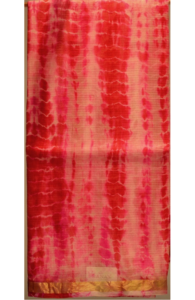 Ranas Kota Silk Sari With Zari Border