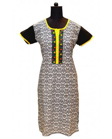 Ranas Cotton Block Printed Kurtis Kurtis