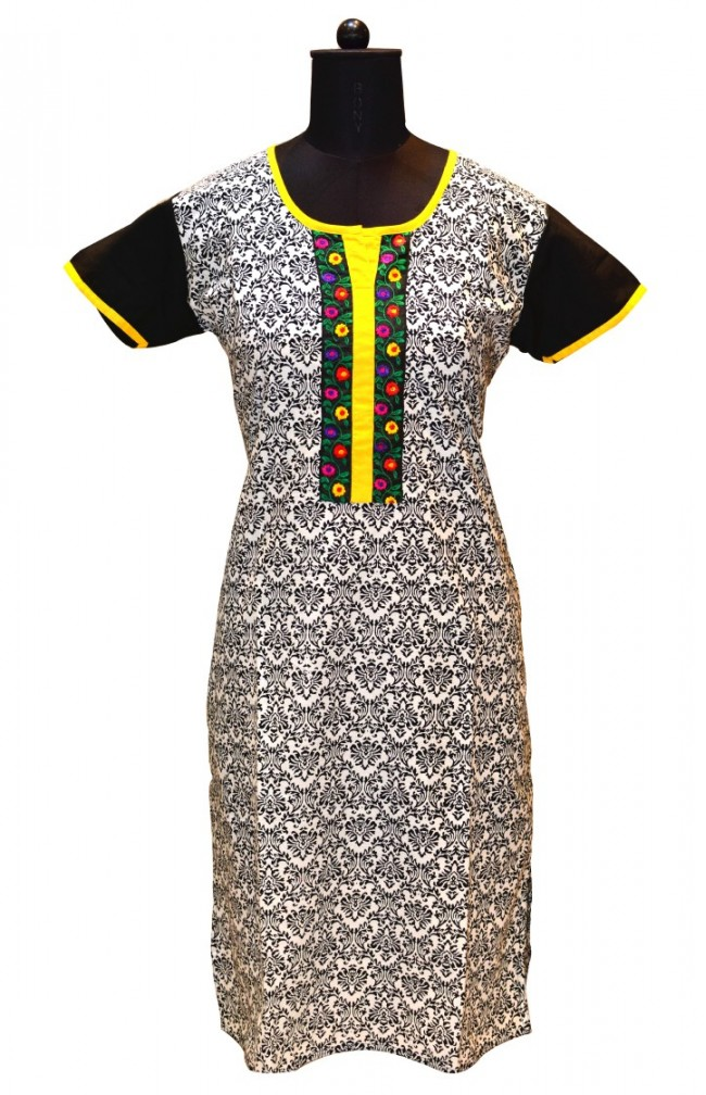 Ranas Cotton Block Printed Kurtis