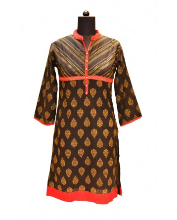 Ranas Block Printed Cotton Kurtis Kurtis