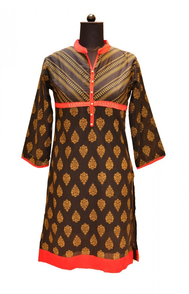Ranas Block Printed Cotton Kurtis