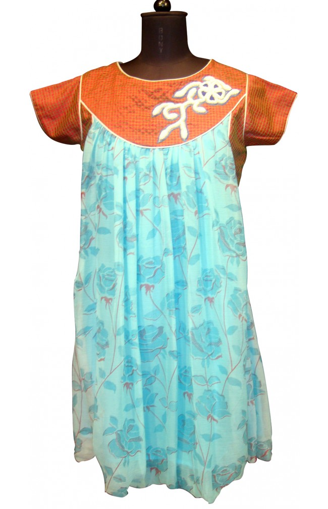 Ranas Light Blue Color Designer Kurti