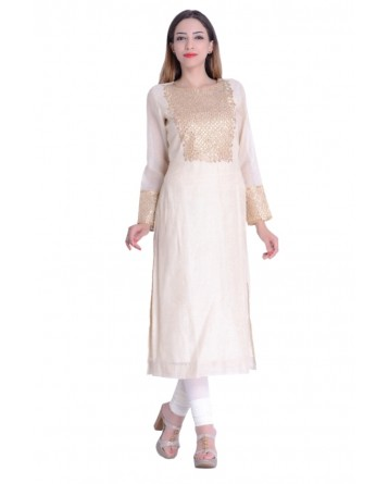 Designer Kurti In Golden Color