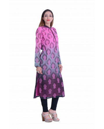 Designer Shaded  Kurti